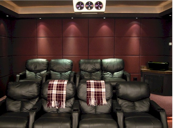 Show us your color schemes avs forum home theater Home theater colors