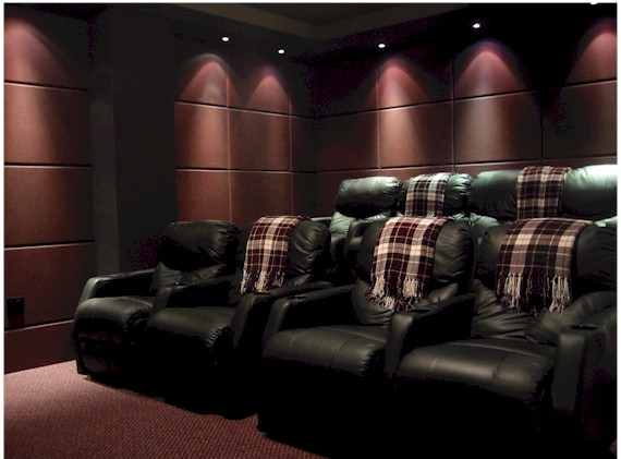 Home Theater Wall Panels fabric frames - avs forum | home theater discussions and reviews