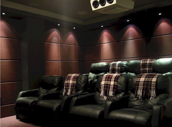 Wall Color For Home Theater