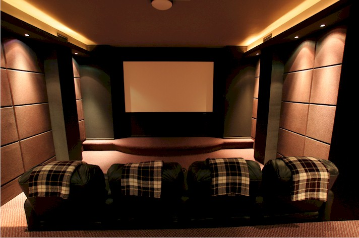 Room completed screen wall stargate unofficial - Home theater screen wall design ...